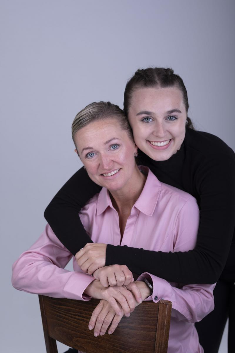 Jennifer Abbott and Emma of Hear at Home ltd.  Headshot Studio located in Downtown Vancouver with Carlos Taylhardat as the photographer producing headshots for Actor's, Business Executive and Corporations.